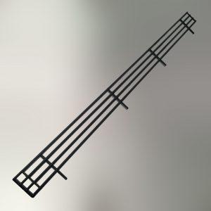 Shelf Fence Black 4pin C25