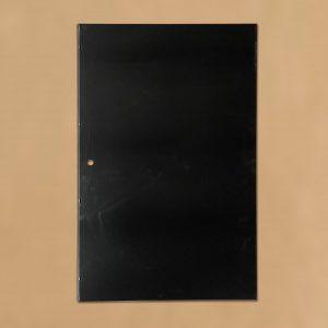 Base Tray - Frigrite - 1216mm x 765mm - Powdercoated Black