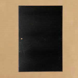 Base Tray, Frigrite, 1216mm x 785mm, Powdercoated Black