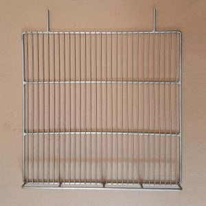 Base Wire Risers - Hussmann SMD - 600mm x 580mm - 400mm Prong Space - Stainless Steel