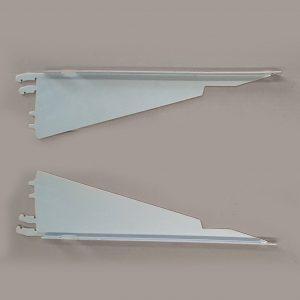 Brackets Shelf, Kysor Warren, 560mm, Powdercoated Silver