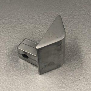 Deli Case Front Glass Corner casting 50mm