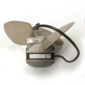 Display case 7 watt Fan motor with blade