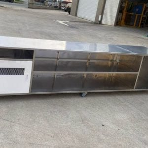 New 3200(L)x800(H)mm Stainless Bench